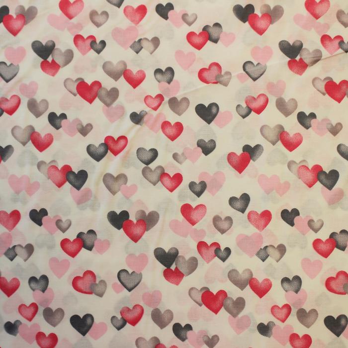 Ranforce alb cu inimioare roz gri [1]