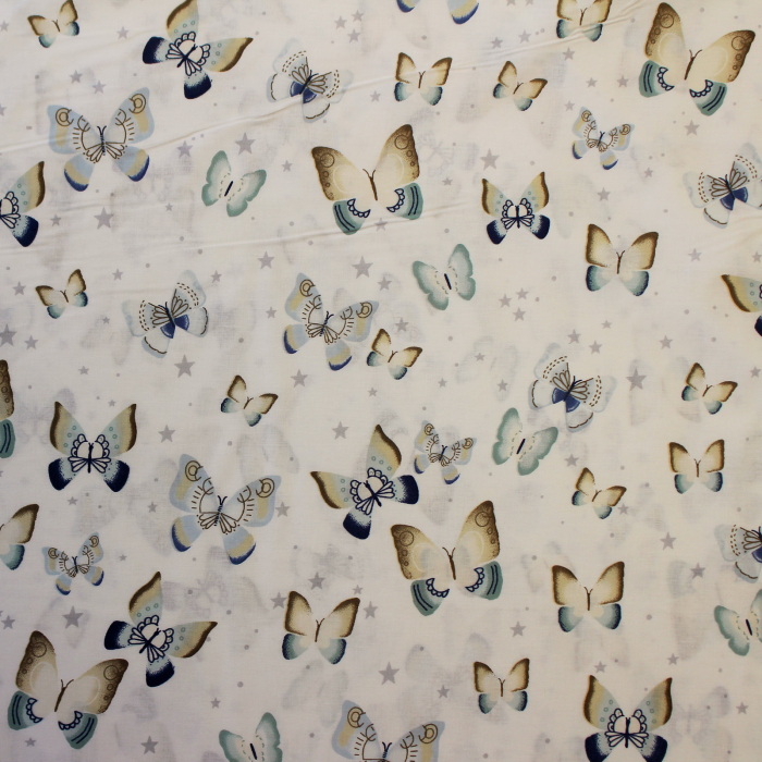 Ranforce alb cu fluturasi bleu galbeni [1]