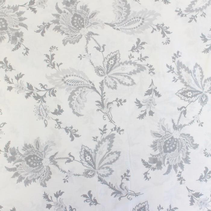 Ranforce alb cu flori gri [1]