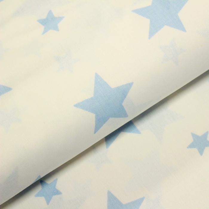 Ranforce alb cu stele bleu [0]