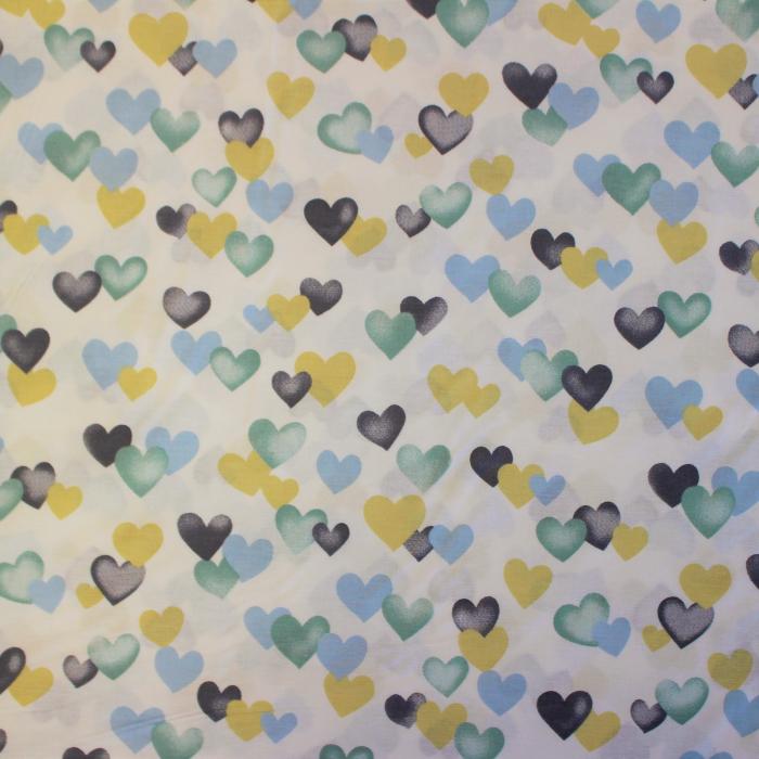 Ranforce alb cu inimioare galbene albastre [1]