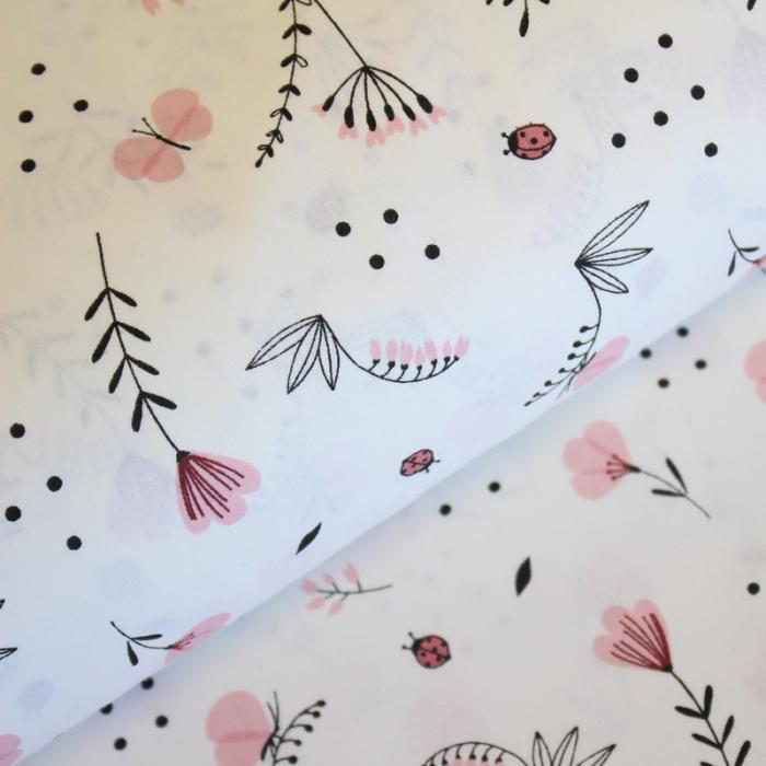 Ranforce cu floricele roz și gărgărițe [0]