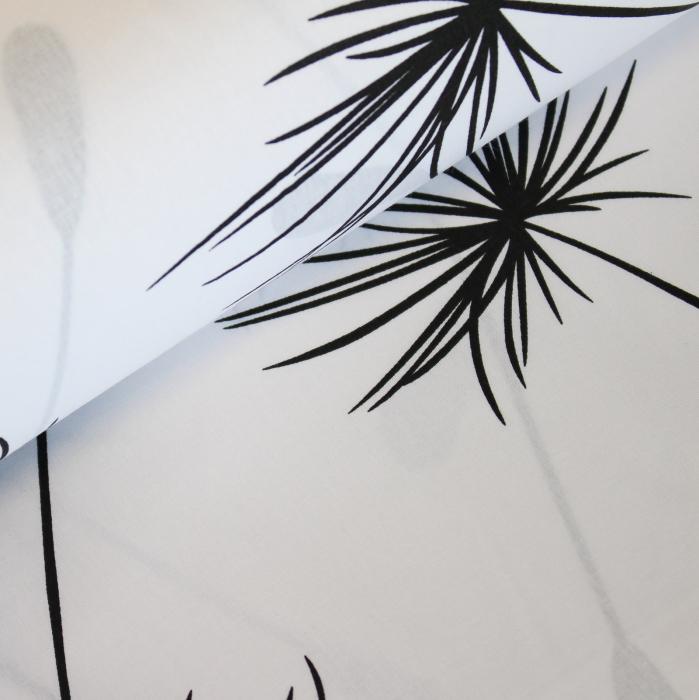 Ranforce alb cu papadii negre [0]