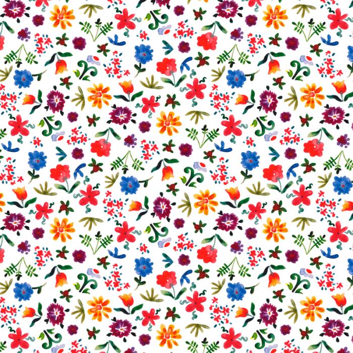 Teflonat impermeabil Baby Flowers [0]
