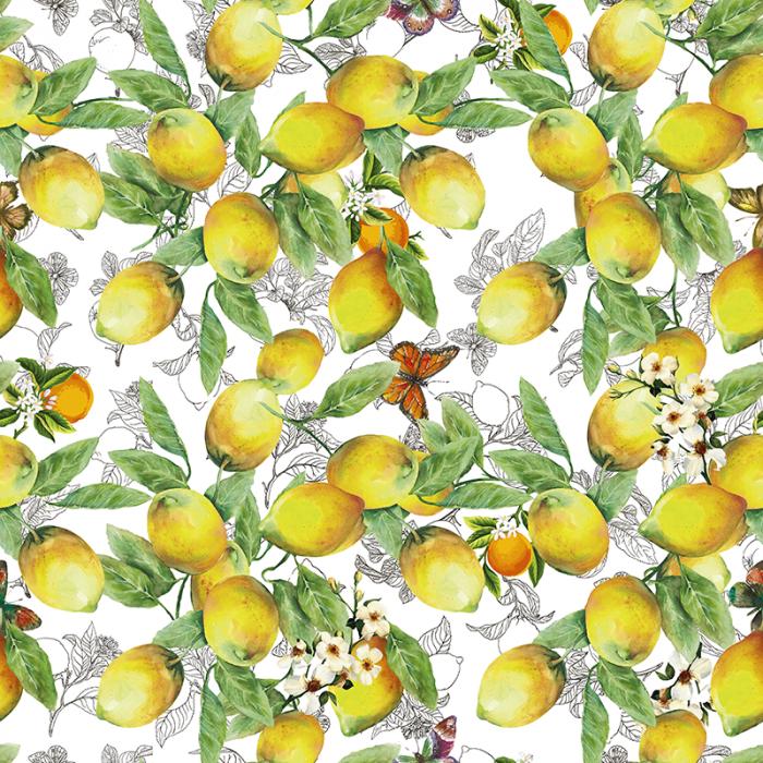 Teflonat impermeabil Citrus Fruit 201 [0]