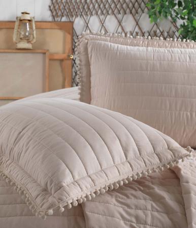 Cuvertură pat Clasy-matlasată PEDRA V1 bej [1]