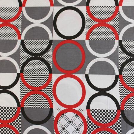 Ranforce alb cu cercuri rosii si negre [1]