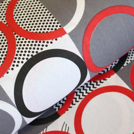 Ranforce alb cu cercuri rosii si negre [0]