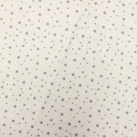 Ranforce alb cu stelute mici gri [1]