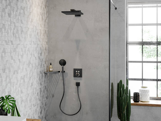 Cap duș fix Raindance E 300 Hansgrohe [5]