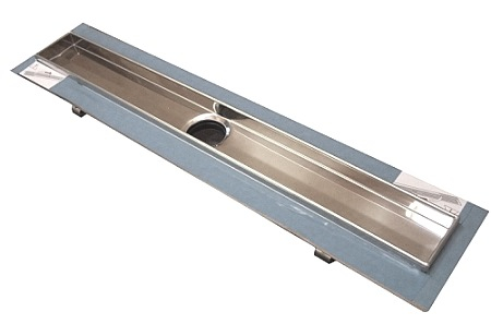Canal de dus TECE drainline drept, cu flansa si banda de etansare Seal System L=1200mm 0