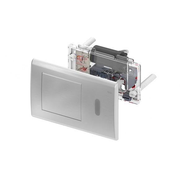Clapeta electronica prevazuta cu senzor infrarosu si alimentare electrica 1x220 v/12 v crom lucios 0