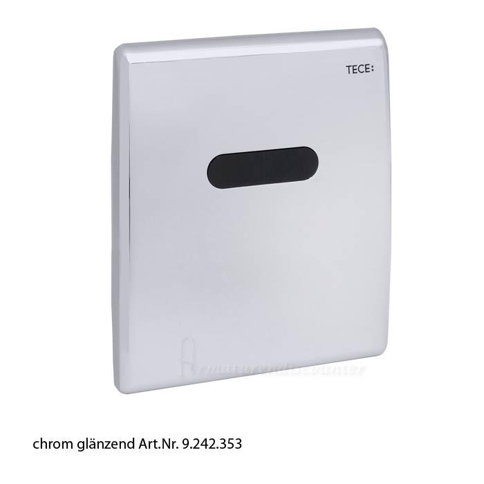 Clapeta urinar electronica prevazuta cu senzor infrarosu si alimentare electrica 1X220 V/12 V crom lucios 0