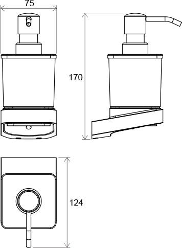 Dozator sapun Concept 10┬░ TD 231.00 Ravak [1]