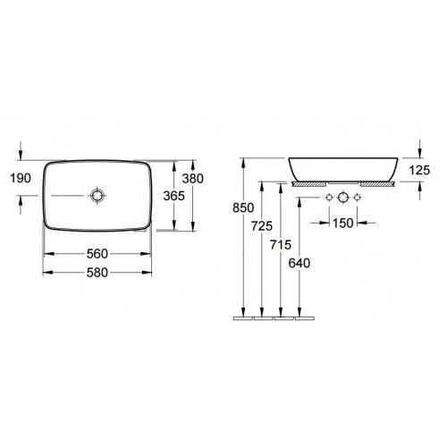 Lavoar Artis VILLEROY&BOCH 41725801 1