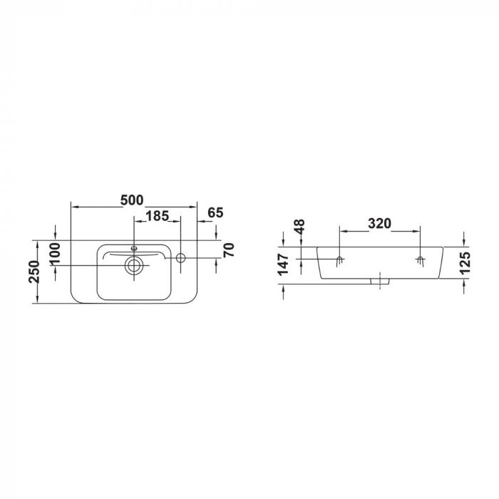 Lavoar Emma Gala 27095 50x25 cm [1]