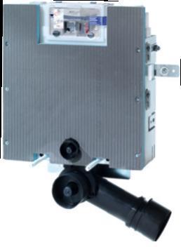 Rezervor incastrat pentru constructii din zidarie, cu actionare frontala sau superioara. H = 820 mm TECE box 0