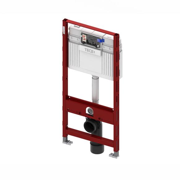 Rezervor incastrat wc cu cadru TECE standard,actionare frontala H1120mm 0