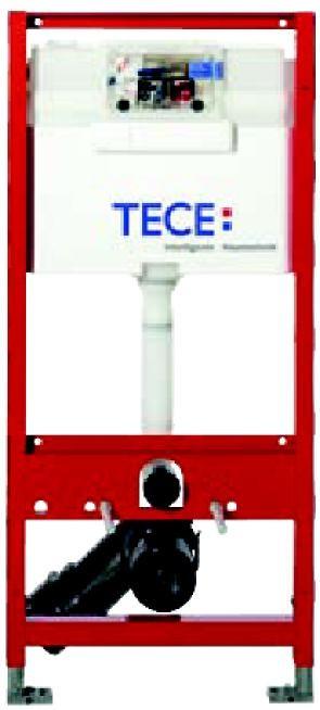 Rezervor ingropat  wc, cu cadru TECE  STANDARD,actionare frontala sau superioara. H = 980 mm 0