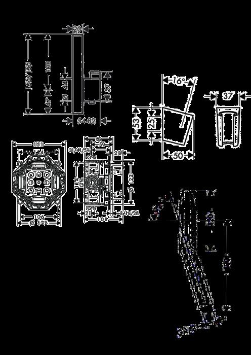 Set dus termostatic incastrat Design Raindance Select E300 [1]