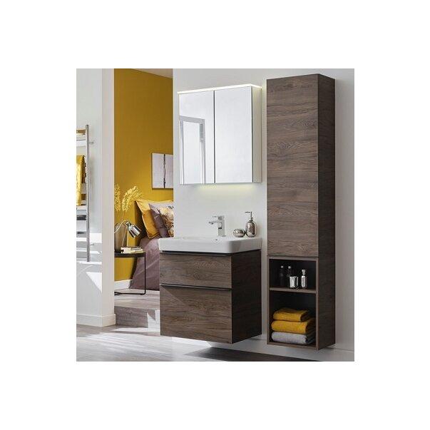 Set mobilier pentru baie suspendat și lavoar Smyle Square 75  Geberit [3]