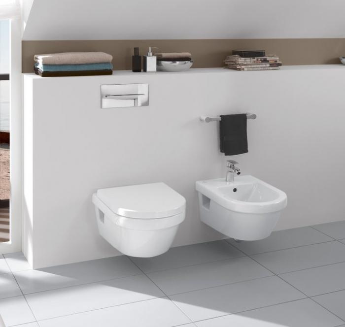 Set Vas WC suspendat cu capac VILLEROY&BOCH Architectura - 5684H101 [3]