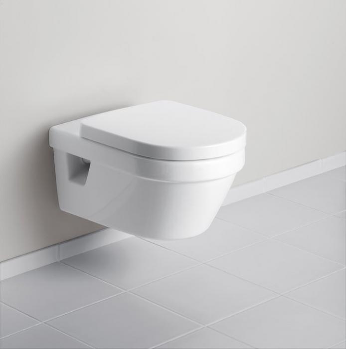Set Vas WC suspendat cu capac VILLEROY&BOCH Architectura - 5684H101 [1]