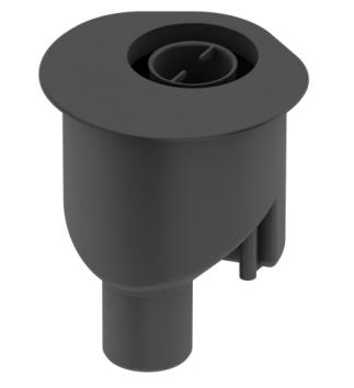 Sifon vertical TECE Drainline DN50, inaltime montaj 165mm [0]