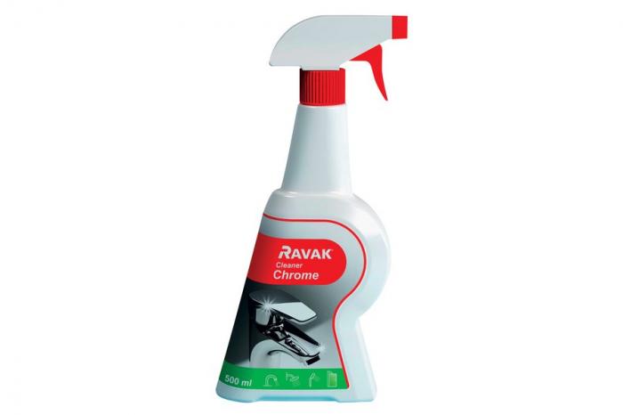 Solutie intretinere-RAVAK Cleaner Chrome 0