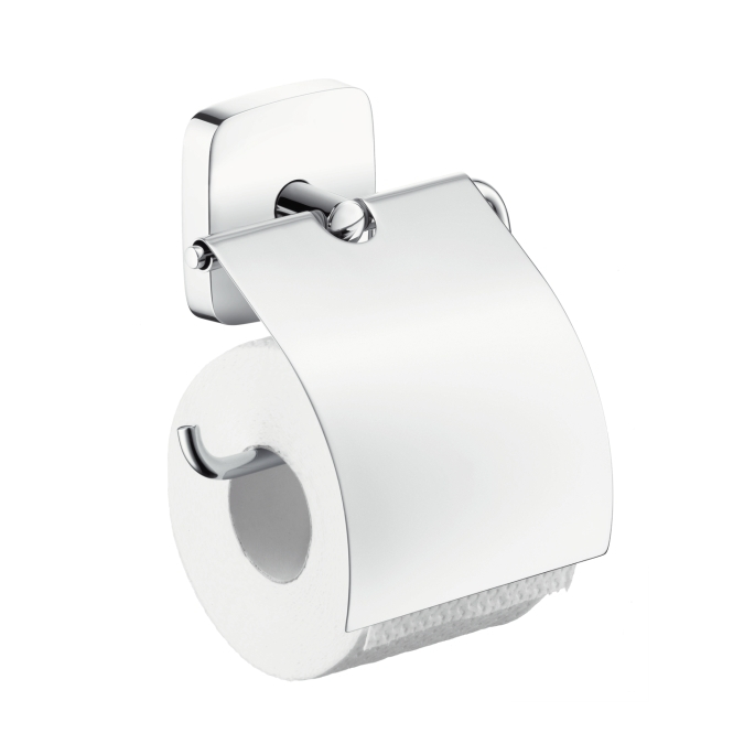 Suport hartie igienica cu capac Pura Vida HANSGROHE 0