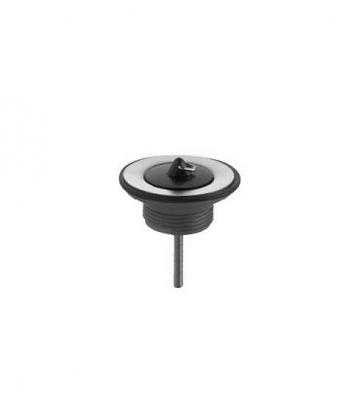 Ventil universal cu dop KLUDI g 1 1/4 sita ventil din otel crni fi 63mm, filet inferior din plastic alb 0