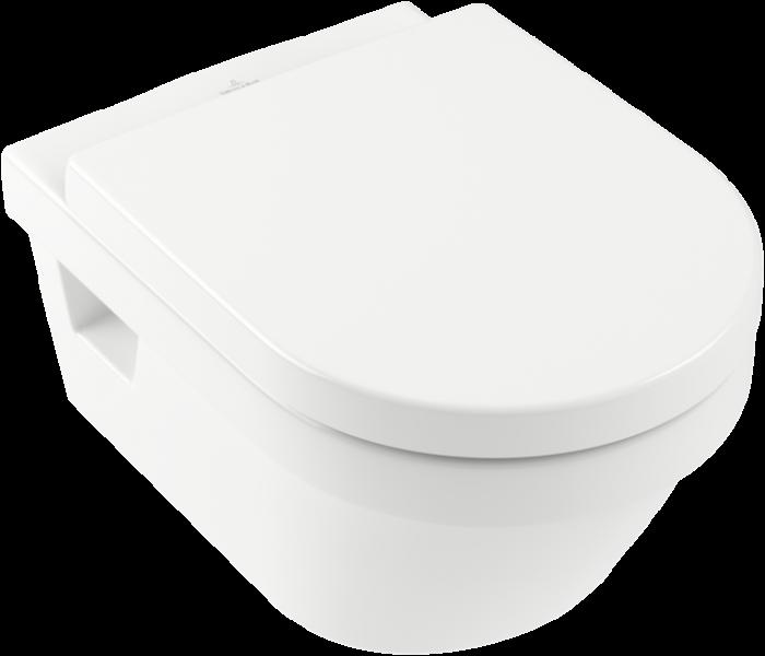 Set vas WC suspendat cu DIRECT FLUSH si capac soft close Architectura VILLEROY & BOCH [1]
