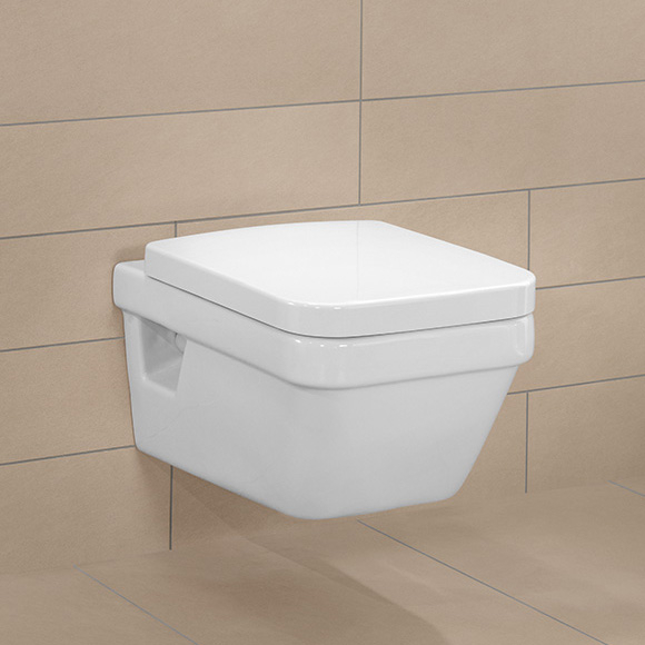 WC Architectura cu capac 5685HR01 combi VILLEROY&BOCH DirectFlush 1
