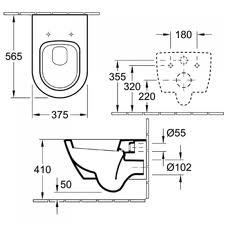 WC Subway 2.0 56001001 VILLEROY&BOCH 4