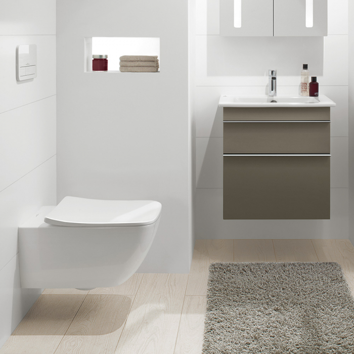WC suspendat Venticello VILLEROY&BOCH 4611R001 direct flush 3