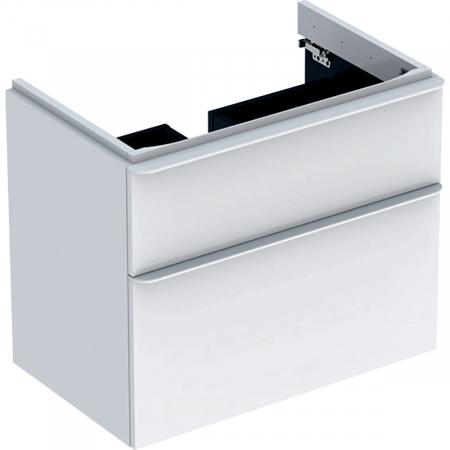 Set mobilier pentru baie suspendat și lavoar Smyle Square 75  Geberit [1]