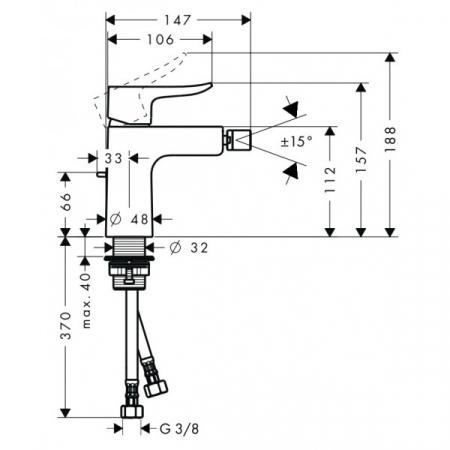 Baterie bideu Metris [1]
