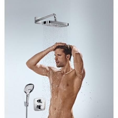 Baterie duș termostatică cu 2 ieșiri Ecostat E Hansgrohe încastrată [1]