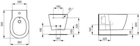 Bideu suspendat Connect Ideal Standard [1]
