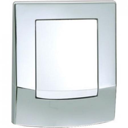 Clapeta de actionare intr-o singura treapta, pentru sisteme de spalare tip urinal crom lucios ambia TECE0