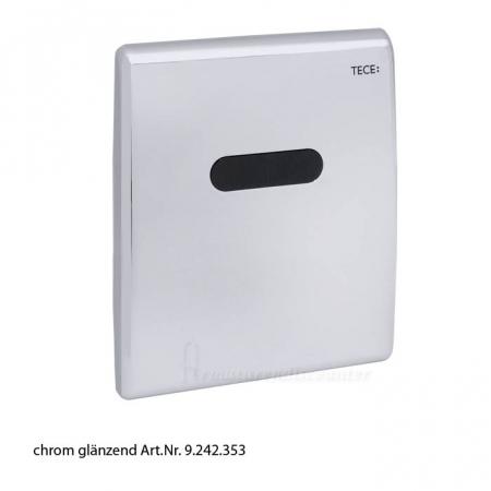 Clapeta urinar electronica prevazuta cu senzor infrarosu si alimentare electrica 1X220 V/12 V crom lucios0