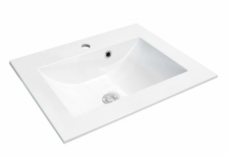 Set mobiler baie suspendat si lavoar Silver Oristo 60 alb [5]