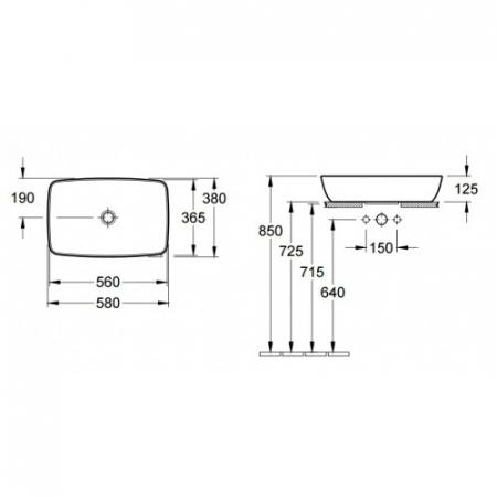Lavoar Artis VILLEROY&BOCH 417258011