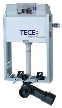 Rezervor incastrat pentru constructii din zidarie, cu actionare frontala TECE.Pentru sanitare cu fixare in pardoseala0