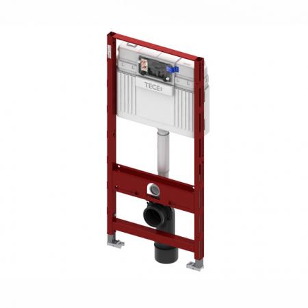 Rezervor incastrat wc cu cadru TECE standard,actionare frontala H1120mm0