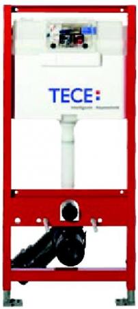 Rezervor ingropat  wc, cu cadru TECE  STANDARD,actionare frontala sau superioara. H = 980 mm0