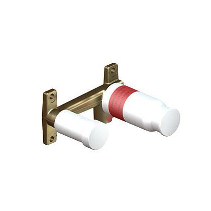 Set preinstalare DN 15 pentru baterie de perete monocomanda lavoar KLUDI, cu 2 treceri, mascata [0]