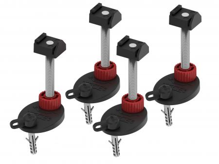 Set suporti de sustinere si montaj 137 - 184 mm [0]