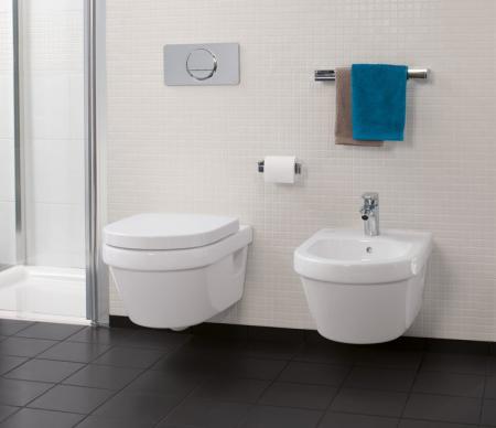 Set Vas WC suspendat cu capac VILLEROY&BOCH Architectura - 5684H101 [4]