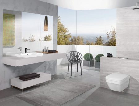 Set vas WC suspendat cu capac soft close Architectura - 5685HR01 [10]